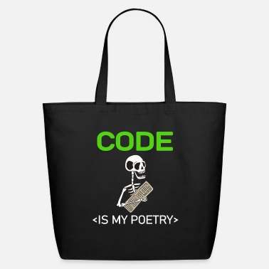 Computer Coding Programmer Computer Gift - Eco-Friendly Tote Bag