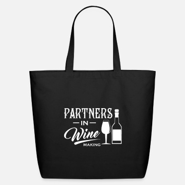 Wine Partner Winemaker Wine Glass - Eco-Friendly Tote Bag