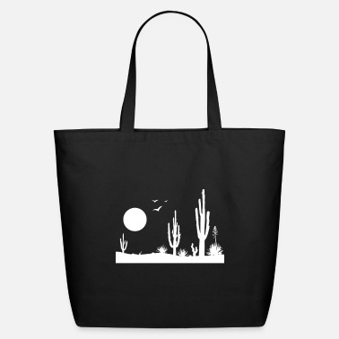 Desert Desert desert landscape - Eco-Friendly Tote Bag