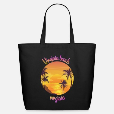 Virginia Beach Virginia Beach Virginia - Eco-Friendly Tote Bag