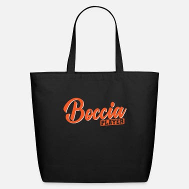 Victory Boccia Player with Balls and Precision - Eco-Friendly Tote Bag