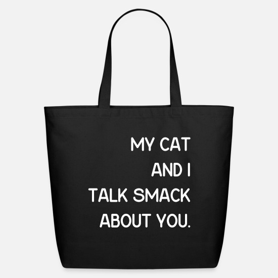 Cat Bags & Backpacks - My Cat 2 - Eco-Friendly Tote Bag black