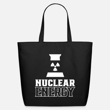 Atomic Energy Nuclear energy Atom Atomic Energy Nuclear Power - Eco-Friendly Tote Bag
