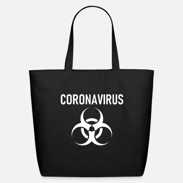 Coronavirus Corona Virus - Coronavirus - Covid-19 - Covid - Eco-Friendly Tote Bag