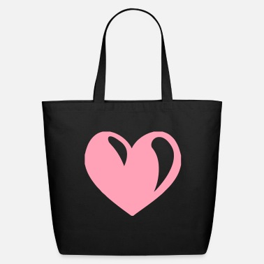 Pink Heart Pink Heart - Eco-Friendly Tote Bag