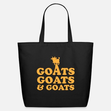 Goat GOATS GOATS and GOATS - Eco-Friendly Tote Bag