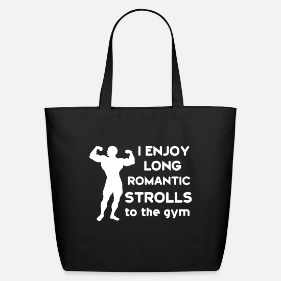 Funny Gym Bags & Backpacks - Funny Gym sayings - Eco-Friendly Tote Bag black