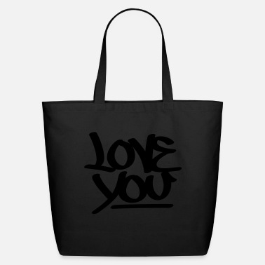 Love You Love You - Eco-Friendly Tote Bag