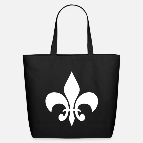 Fleur De Lis Bags & Backpacks - Fleur de Lis - Eco-Friendly Tote Bag black