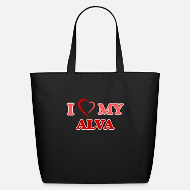 Alva Love I love my Alva - Eco-Friendly Tote Bag