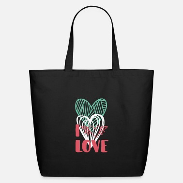 I Love I love - Eco-Friendly Tote Bag