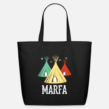 Marfa TX Ghost Lights Festival Texas Art - Eco-Friendly Tote Bag