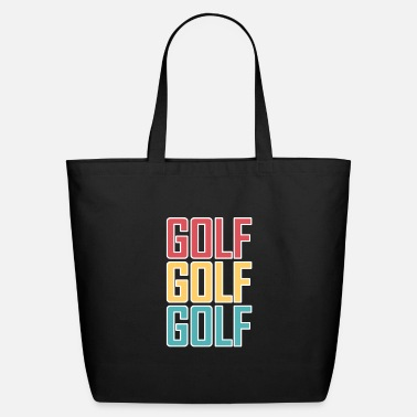 Golf golf golf golf - Eco-Friendly Tote Bag