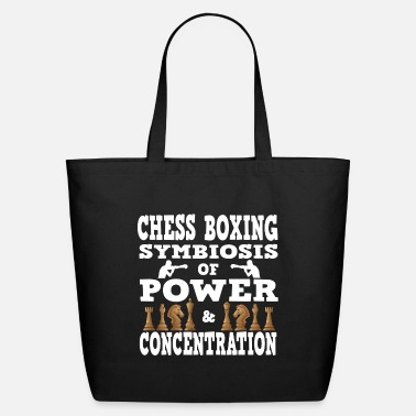 Chess Chess Boxing Symbiosis of power and concentration - Eco-Friendly Tote Bag