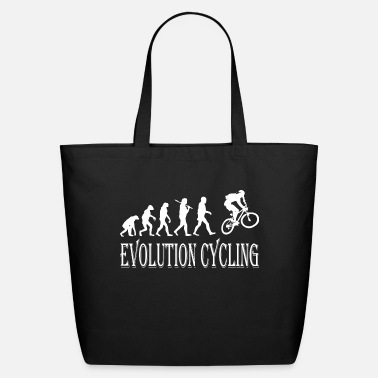 Cycling Evolution Cycling Cycle - Eco-Friendly Tote Bag