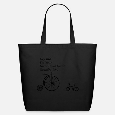 Bmx Grandfather GREAT GRANDFATHER OF BIKE - Eco-Friendly Tote Bag