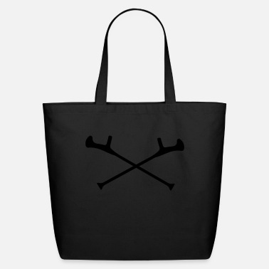 Crutches crutch - Eco-Friendly Tote Bag