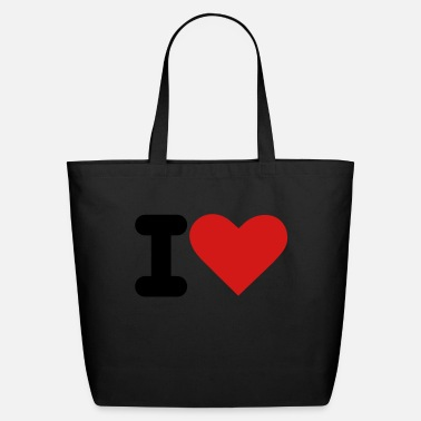 I Heart i heart - Eco-Friendly Tote Bag