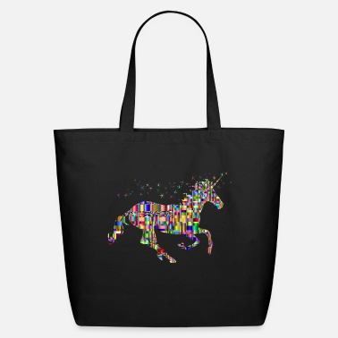 Pixel Pixeled Unicorn - Eco-Friendly Tote Bag