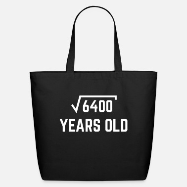 Square Root of 6400 - Eco-Friendly Tote Bag