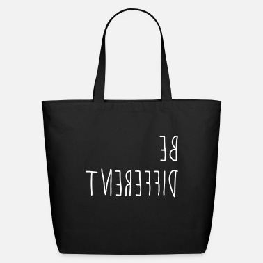 Different Be different - difference - Eco-Friendly Tote Bag