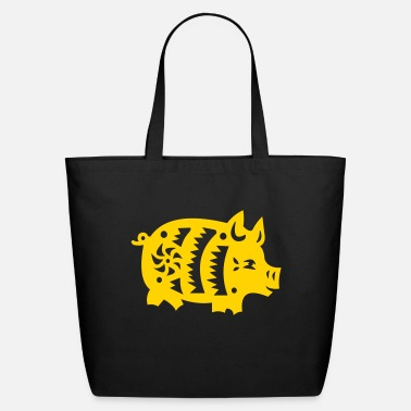 Astrology pig - Eco-Friendly Tote Bag