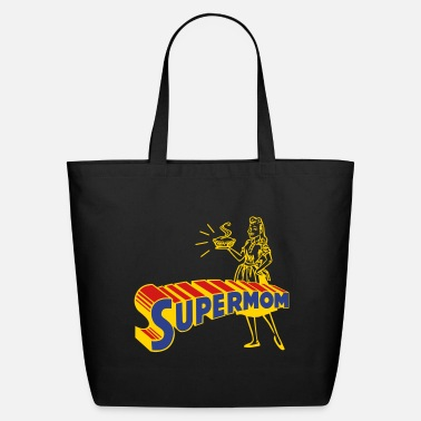 Mothers Day supermom - Eco-Friendly Tote Bag