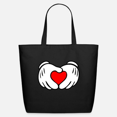 Mickey Heart Hands Mickey heart hands - Eco-Friendly Tote Bag
