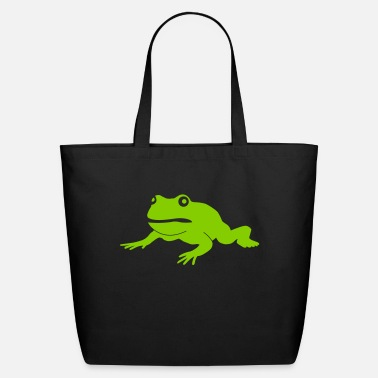 Frog grumpy frog - Eco-Friendly Tote Bag