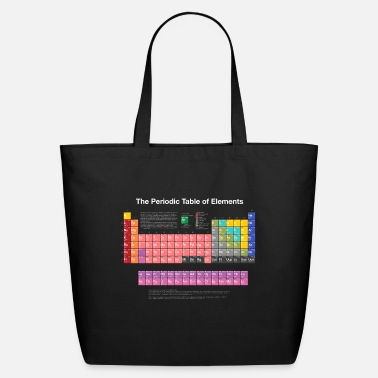 Biology Periodic Table of Elements (PTE) light. - Eco-Friendly Tote Bag