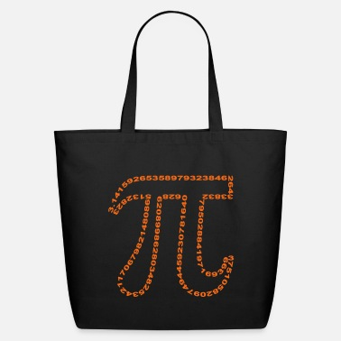 Occupation pi outline - Eco-Friendly Tote Bag