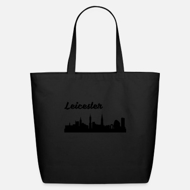 Leicester Leicester Skyline - Eco-Friendly Tote Bag