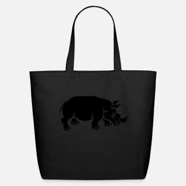 Rhinoceros rhinoceros - Eco-Friendly Tote Bag