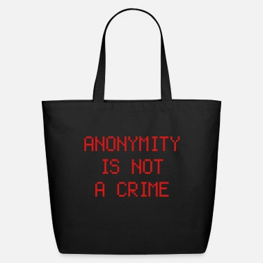 Internet anonymity - Eco-Friendly Tote Bag