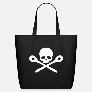 Wooden Spoon Skull cooking / Wooden spoon - Eco-Friendly Tote Bag