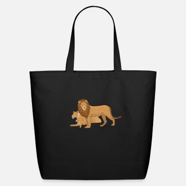 lions - Eco-Friendly Tote Bag