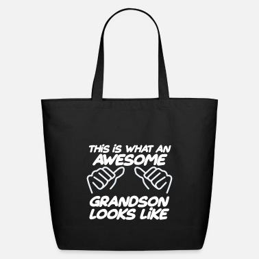 Grandson Awesome Grandson - Eco-Friendly Tote Bag