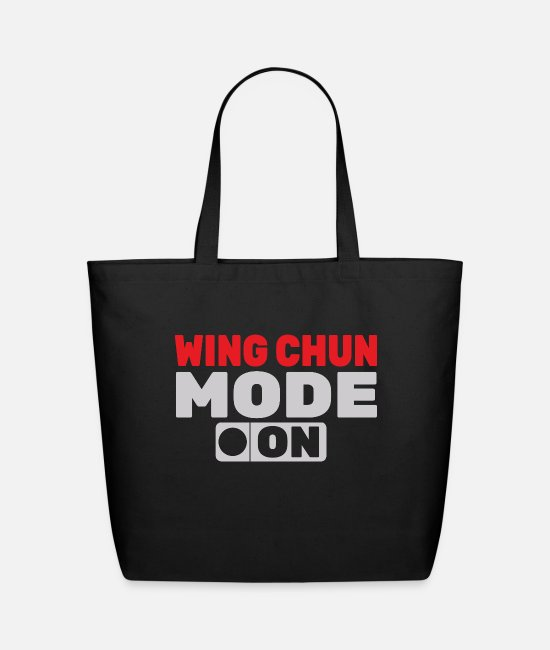 Martial Arts Bags & Backpacks - Fashion on World off Wing Chun - Eco-Friendly Tote Bag black
