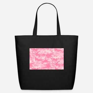 Girlie Girly Camouflage - Eco-Friendly Tote Bag
