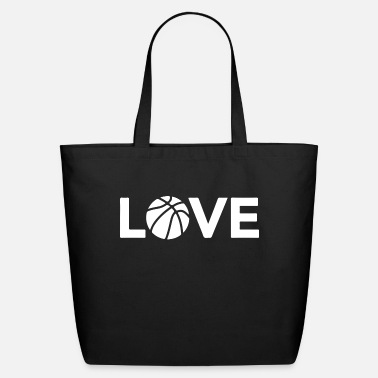 Basket love te bball 2 - Eco-Friendly Tote Bag