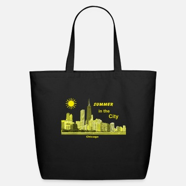 Chicago Chicago Illinois USA Summer Holiday City - Eco-Friendly Tote Bag