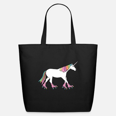 unicorn with roller skates - Eco-Friendly Tote Bag