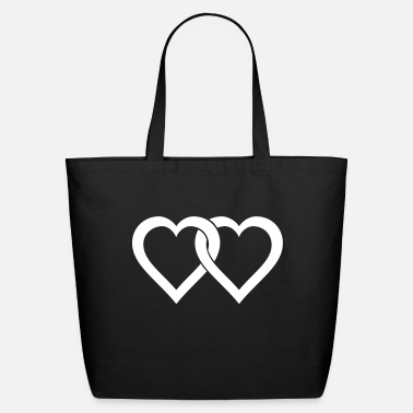 Two Hearts two hearts - Eco-Friendly Tote Bag