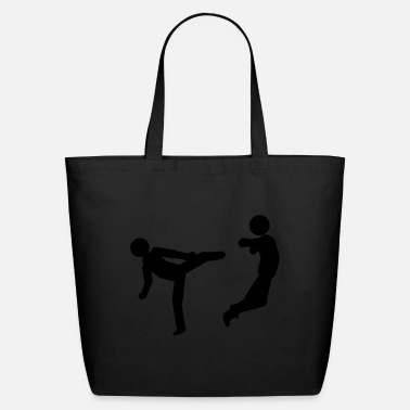 Kick slapping - Eco-Friendly Tote Bag