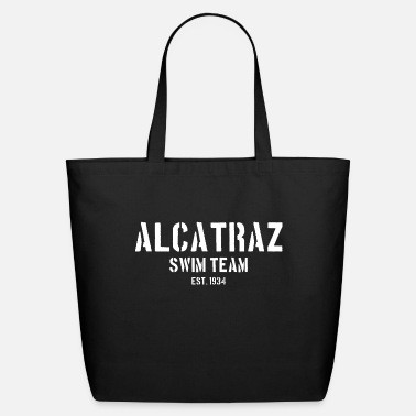 Est 1934 Alcatraz Swim Team est 1934 California Prison Jail - Eco-Friendly Tote Bag