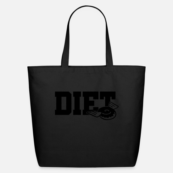 Joke Bags & Backpacks - Diet - Eco-Friendly Tote Bag black