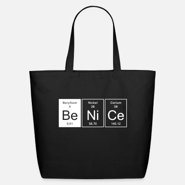 Nice Nice - Be Nice - Eco-Friendly Tote Bag