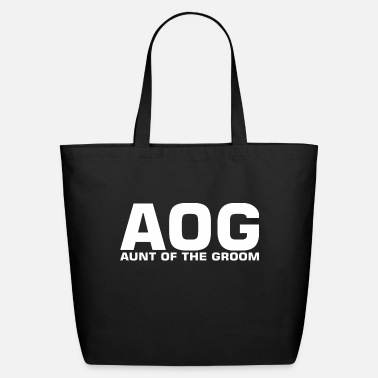 Groom AOG Aunt Of The Groom - Eco-Friendly Tote Bag