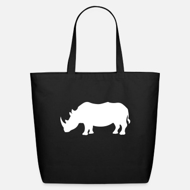 Rhinoceros Rhino / Rhinoceros Safari 1c - Eco-Friendly Tote Bag