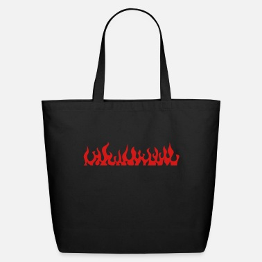 Fire flames 2 - Eco-Friendly Tote Bag